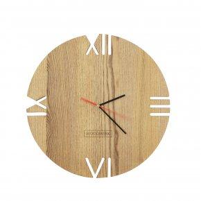Clock - Clock WOODWERK Aiguille Wall PNG