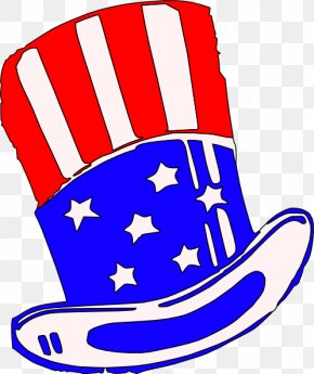 Yankees Cap Cliparts - United States Uncle Sam Hat Clip Art PNG