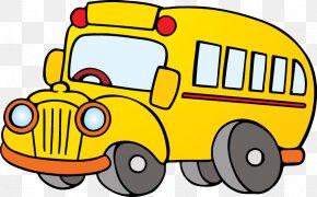 School Bus - School Bus Animation Clip Art PNG