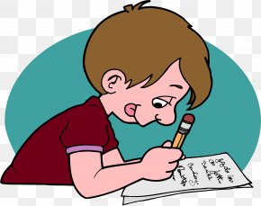 Homework - School Writing Test Learning Lesson PNG