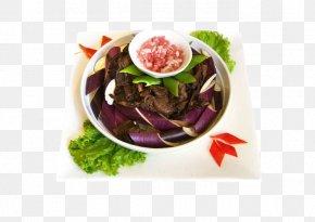 Eggplant - Chinese Cuisine Capsicum Annuum Asado Eggplant Salad PNG