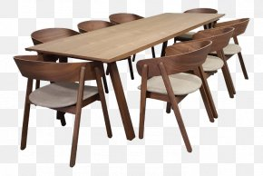 Dining Table Set - Table Chair Dining Room Matbord Furniture PNG