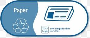Recycling Paper - Paper Recycling Paper Recycling Recycling Bin Sticker PNG