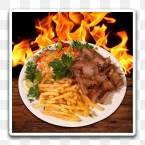 Barbecue - French Fries Chili's Kebap & Pizzeria Hall In Tirol Barbecue Chicken Nugget Street Food PNG