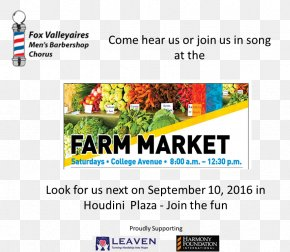 Farmers Market - Web Page Display Advertising Web Banner Brand PNG
