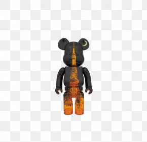 Tokyo Tower Pattern - Bearbrick Kubrick Designer Toy Action Figure PNG