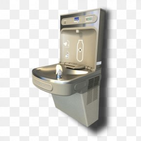 Airport Water Refill Station - Drinking Fountains Water Filter Water Cooler Elkay Manufacturing Bottle PNG