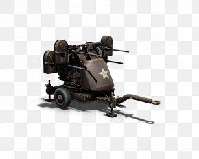 Machine Gun - Heroes & Generals Anti-aircraft Warfare Machine Gun Firearm Weapon PNG