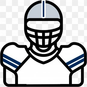 American Football - Dallas Cowboys American Football Player American Football Helmets Clip Art PNG