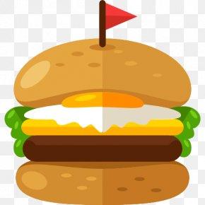 A Burger - Hamburger Chicken Sandwich Steak Burger Fast Food PNG