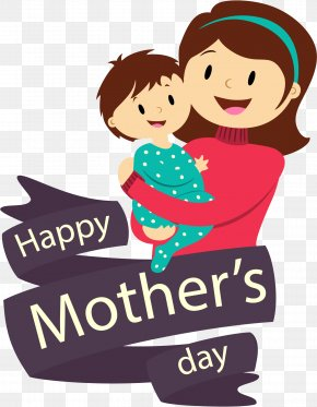 Vector Mother's Day Holiday - Mother's Day Wallpaper PNG