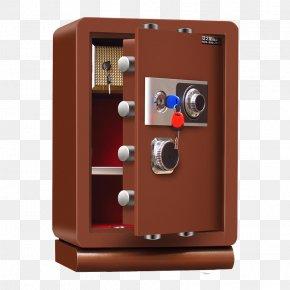 Upscale Safe - Safe Deposit Box Money Insurance Password PNG