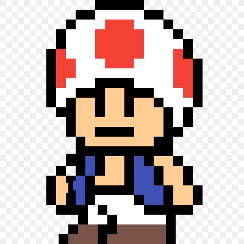 Minecraft Toad Mario Bros Pixel Art Png 1200x1200px