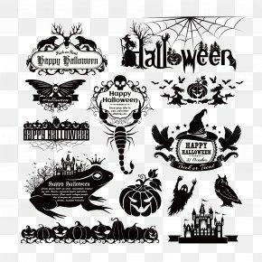 Vector Halloween Element - Euclidean Vector Element Halloween PNG