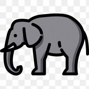 Elephant Icon - Indian Elephant African Elephant Clip Art PNG