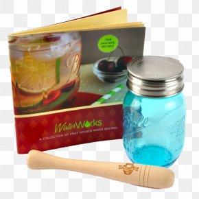 Mason Jar - Mason Jar Glass Infuser Distilled Beverage PNG