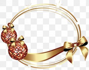 Christmas - Picture Frames New Year Christmas Clip Art PNG