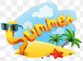 Summer Deco Picture Clipart - Summer Clip Art PNG