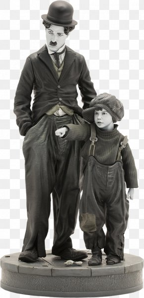 Statue Of Charlie Chaplin London - Tramp Statue Of Charlie Chaplin, London Figurine Film PNG