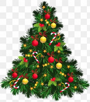 Christmas Decoration - Christmas Tree Christmas Decoration Clip Art PNG