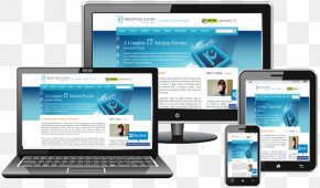 Responsive Web Design - Responsive Web Design Laptop Web Development Desktop Computers PNG
