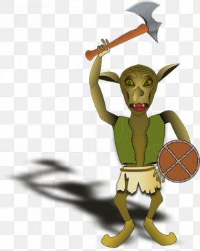 Goblin Cliparts - Green Goblin Battle Axe Clip Art PNG