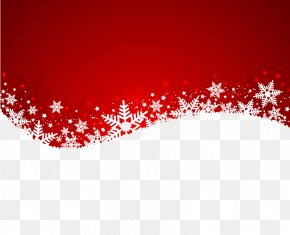 White Snowflake Design Background Vector Material - Snowflake Christmas Illustration PNG