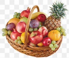 Fruit Food Gift Baskets Clip Art PNG