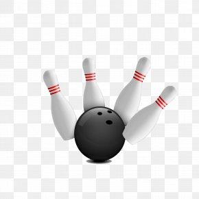 Bowling - Bowling Pin Bowling Ball Strike PNG