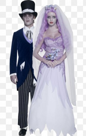 Ghost Costume - Costume Party Halloween Costume Clothing Bride PNG