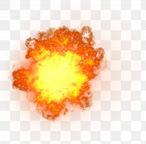 Particles - Light Flame Fire Explosion PNG
