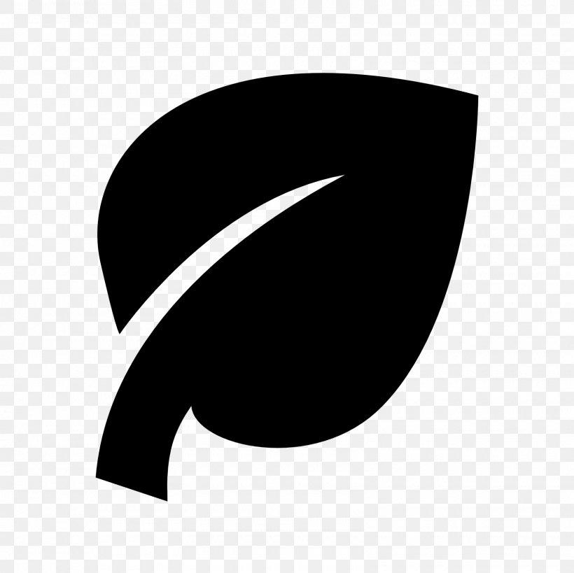 Leaf Logo Clip Art, PNG, 1600x1600px, Leaf, Black, Black And White, Crescent, Logo Download Free