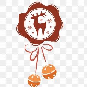 Elk Bells - Scrapbooking Rubber Stamp Christmas Craft Polyvinyl Chloride PNG