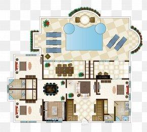 Bedroom Decoration - Floor Plan Bedroom Villa House Interior Design Services PNG