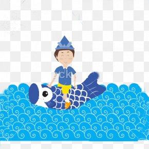 Happy Japan Children's Day - Japan Childrens Day Koinobori Illustration PNG