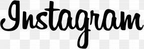 Instagram Font - Web Typography Script Typeface Font PNG