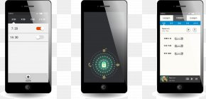 Mobile Phone Unlock Interface Design - Telephone User Interface IOS PNG