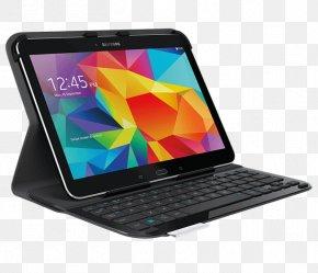 Samsung Galaxy Tab A 10.1 - Samsung Galaxy Tab 4 10.1 Computer Keyboard Logitech Ultrathin Keyboard Folio For Samsung Galaxy Tab 4 (10.1) Logitech Bluetooth Keyboard And Folio Case For IPad 2/3 PNG