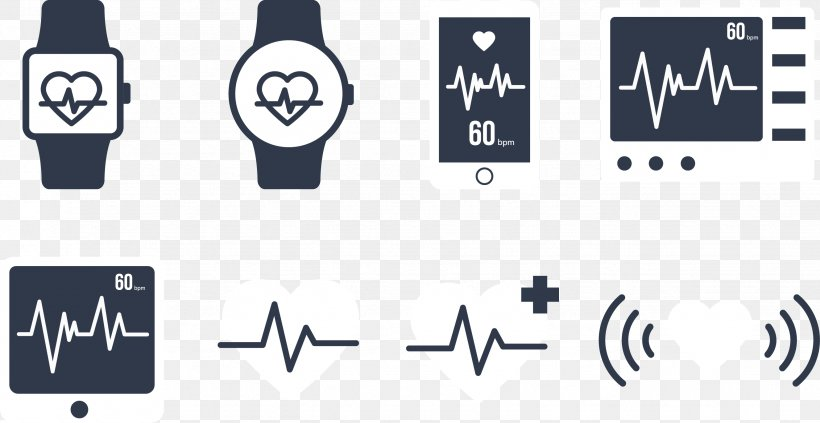 Heart Electrocardiography Illustration, PNG, 2658x1374px, Heart, Brand, Electrocardiography, Heart Rate, Heart Rate Monitor Download Free