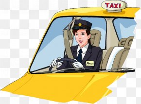 Taxi Driver - Taxi Driver Royalty-free Clip Art PNG