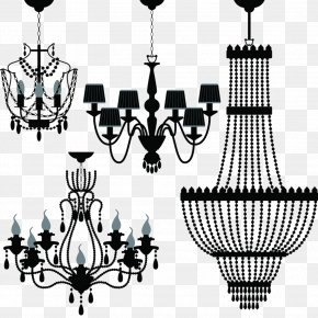 Crystal Chandeliers - Chandelier Lighting Stock Photography Clip Art PNG