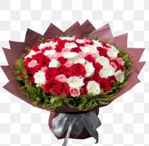Bouquet Of Flowers - Flower Bouquet Nosegay Gift PNG