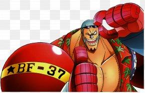 One Piece - Franky Monkey D. Luffy Vinsmoke Sanji Donquixote Doflamingo Desktop Wallpaper PNG