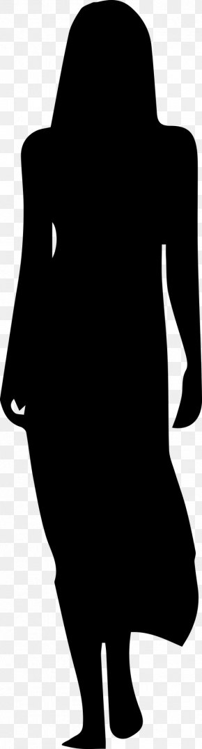 Dress - Dress Silhouette Woman Clip Art PNG