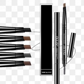 Pen-shaped Eyebrow Pencil Eyebrow Pencil - Eyebrow Make-up Pen Face PNG