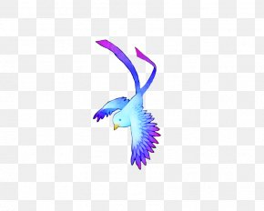 Blue Dream Lark - Bird Lark Blue PNG