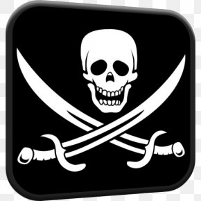 Flag - Jolly Roger Piracy Flag United States Buccaneer PNG