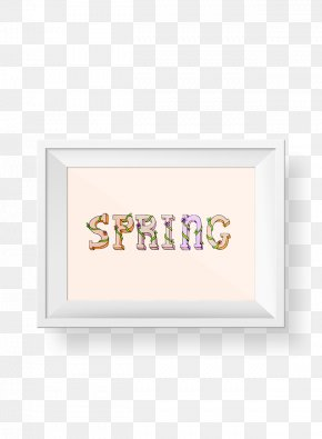 Picture Frames Material Rectangle Font PNG