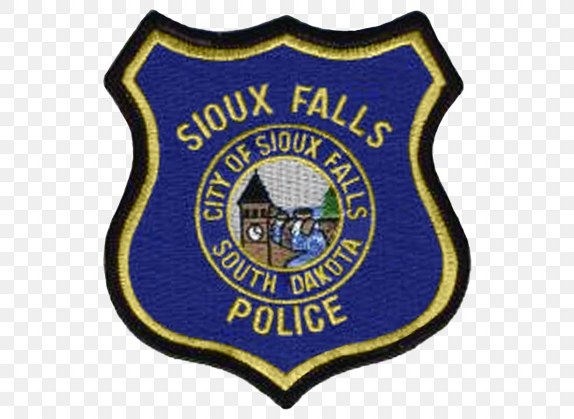 Sioux Falls New York City Police Department Police Officer Sioux City, PNG, 557x599px, Sioux Falls, Badge, Brand, Chief Inspector, City Of London Police Download Free