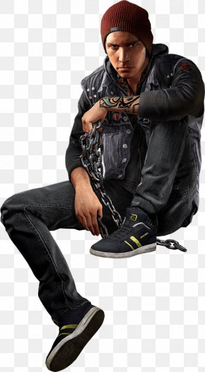 Infamous Second Son Video Game Delsin Rowe Character PNG